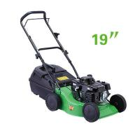 Quality Small size 19 Inch Hand push gasoline garden grass lawn mower  equipment for sale