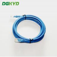 Quality UTP FTP Cat5e 3M Ethernet Patch Cable , Multi - Pair UTP 26AWG Network LAN Cable for sale