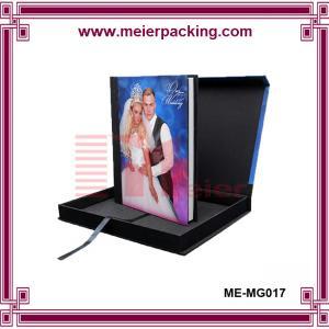 China Custom Handmade Album Photo Paper Box/Wedding Favor Printed Rectangle Photo Album Gift Box  ME-MG017 on sale