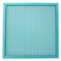 Quality Diamond Aluminum Window Screen Expanded Wire Mesh Decorative Woven for sale