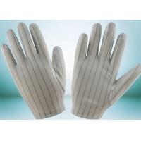 Buy cheap Clean Room ESD Disposable Gloves , Static Proof Gloves High Durability from wholesalers