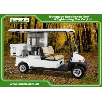 Quality Curtis Controller 2 Person Mini Electric Utility Carts Higher Driving Ability for sale