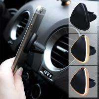 Universal ABS Cell Phone Holder Magnetic Air Vent Car Mount Holder For Smartphones