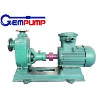 Quality Engineering plastic Stainless Steel Self Priming Pump FPZ Corrosion resistant for sale