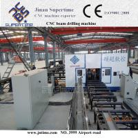 Multi spindle CNC beam drilling line