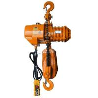 China Hook Type Electric Chain Hoist 0.5t To 10t Capacity For Industrial Fields for sale