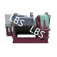 Quality Electric Winding Hoist Wrie Rope Electric Marine Winch Lifting Capacity 10T , 30T for sale