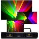 China Y-05RG four tunnels ceiling RG laser beam light effect show for Disco, KTV on sale