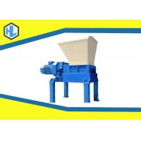 China 45 Kw Motor Power Solid Waste Shredder Machine For Wood Pallet / Cloth / Plastic Material on sale