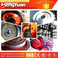 Quality Electric double girder overhead bridge cranes wheels for sale