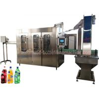 Quality Carbonated Soft Drink Filling Machine Equipment For Soda Factory Bottling Line for sale