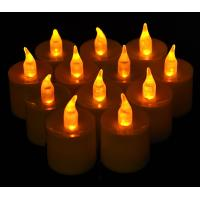 China Large LED Battery Operated Tealight Candles (12 Pack) on sale