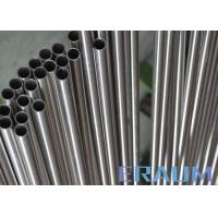 Quality ASTM B622 Seamless Nickel Alloy Tubing Cold Drawn 3.18mm - 101.6mm Outer Diameter for sale