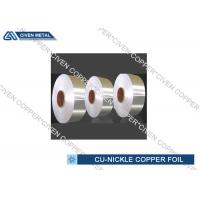 China Copper Nickel Alloy Foils For Sea Water System Components Resistant on sale