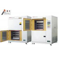 Quality Plastic Horizontal Thermal Shock Test Chamber Water Cooled Test Cabinet for sale