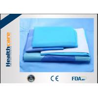Quality SMMS EO Sterile General Surgery Drape Disposable Surgical Packs With OP Tape for sale