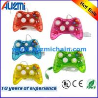 China Transparent Wired Joystick For Xbox 360 Controller Led Lighting gamepad for xbox 360 on sale