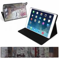 Best Non - toxic Stand PU Leather Folio Protective Ipad Case Cover For Ipad Mini 3 wholesale