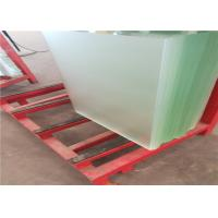 Buy cheap High Transmittance Low Iron Tempered Glass 3.2mm / 4mm Thickness Waterproof from wholesalers
