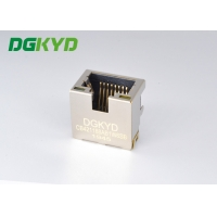 Quality Single Countersunk 4.2 SMT RJ45 Connector Jack With Shield for sale