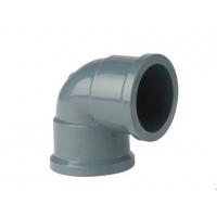 Quality PVC Female Coupling 90 Bend  63mm Ductile Iron Pipe Fittings for sale