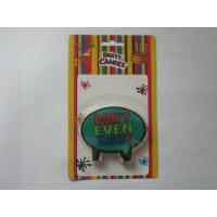Best Green Surface Black Border Shape Birthday Candle To Be Printed Colorful Letter wholesale