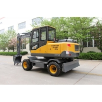 Buy cheap Double Cylinder Water Cool Diesel Engine Hydraulic Excavator With Trench Bucket from wholesalers