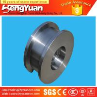 Quality Gantry crane and overhead crane used forged iron crane wheels for sale