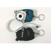 Quality Tape measuring Mini with keychain promotional custom logo printing different color cute funny tapeline for sale
