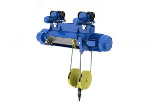 Quality Remote Control CD Single Speed Electric Wire Rope Hoist for sale