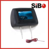 "Quality Sibo 7"" Taxi Headrest Advertising Screen With Customized Software for sale"