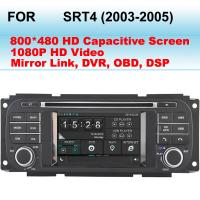 Quality 2003 - 2005 SRT4 Dodge DVD Player In Dash GPS Navigation 3D Graphical User Interface for sale