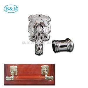 Quality H057 Australia Style Metal Coffin Handles Zamak Fix bar handles for sale