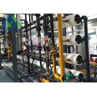Quality Heavy Duty Seawater Desalination Plant With RO Treatment System 3-11 PH for sale