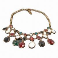 Buy cheap Fashionable Exaggeration Necklace for Wedding and Party from wholesalers