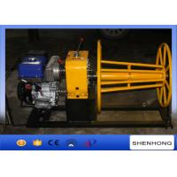 Quality Yamaha Gas Powered Capstan Winch 3 Ton for Cable Take Up / Stringing for sale