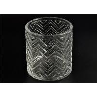 Best Replacement Cylinder Glass Candle Holders Heat Resistant With Lid wholesale