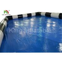Quality Custom Blue Adult Deep Covers Inflatable Swimming Pools For Rent Commercial Grade for sale