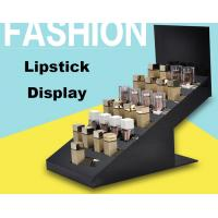 China High End Retail Cosmetic Display Cases Lipstick Display Stand Eco Friendly Material on sale