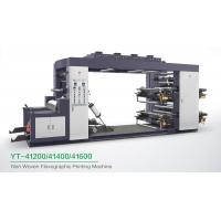 Quality High Speed 4 Colour Flexographic Printing Machine For Paper Printer / Label Printer for sale