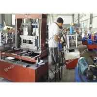 Quality Solar Panel / Cable Tray Roll Forming Machine , Steel Frame Roll Forming Machine for sale