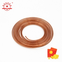 Quality ASTM B280 Standard 15m 0.2mm Copper Capillary Tube for sale