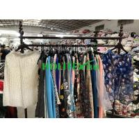 American style second hand clothes , used women's clothing , first grade ladies silk skirt