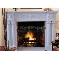 Quality marble mantel  fireplace for home for sale