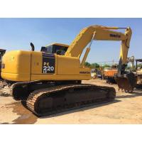 Quality 22 tonnage Second hand Komatsu excavator PC220-7 with water collant engine & A/C cab for sale