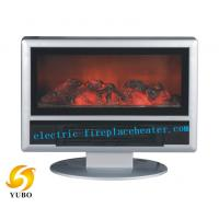 China Explosion - Proof Electric Fireplace Tv Stand 900W For Keeping Room Warm on sale