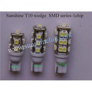 Best Sunshine car led bulbs T10 Wedge 194 W5W, T4W BA9S 44, T5 B8.5D, DOME LIGHTS FESTOON 623 C10W wholesale