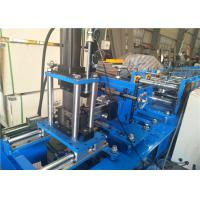 Quality Metal Steel Guider Rail Rolling Shutter Machine For Door , 0.8-1.0mm Thickness for sale