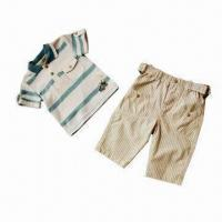 Quality Baby Clothing Set, Made of 100% Cotton for sale