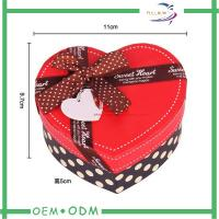 Best Heart Shape Chocolate Gift Boxes , unique wedding gift box packaging wholesale